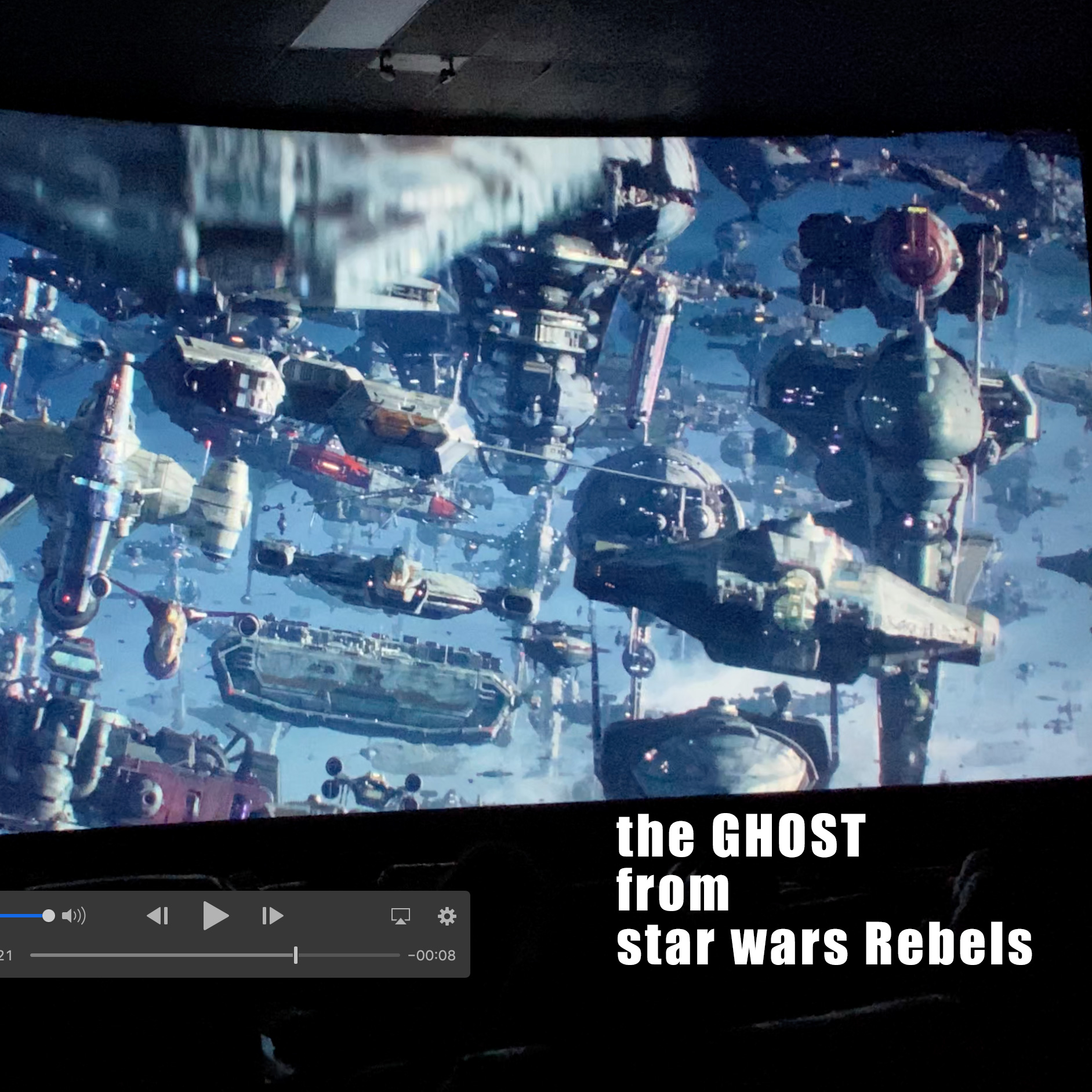 Ghost From Star Wars Rebels In The Final Trailer For Star Wars The Rise Of Skywalker Trailerdetails