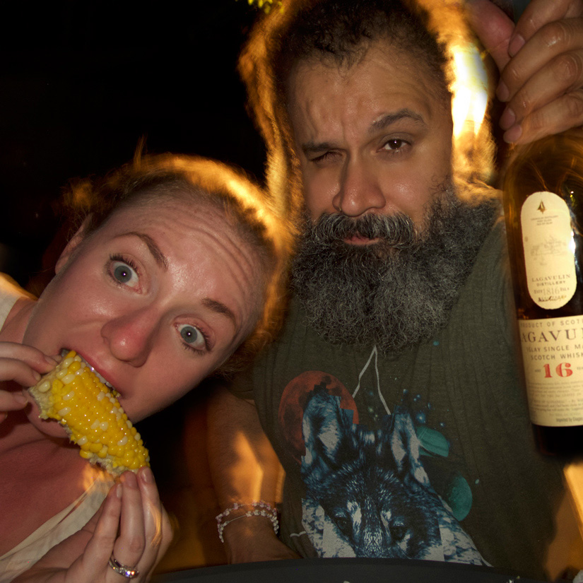whisky wolves Nicol and William and the Lagavulin 16