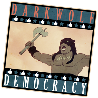 William Fuentes's Dark Wolf Democracy Politcal Page on Facebook