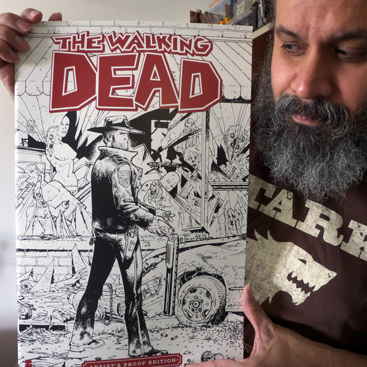 The Walking Dead Artists Proof Edition NYCC William Fuentes