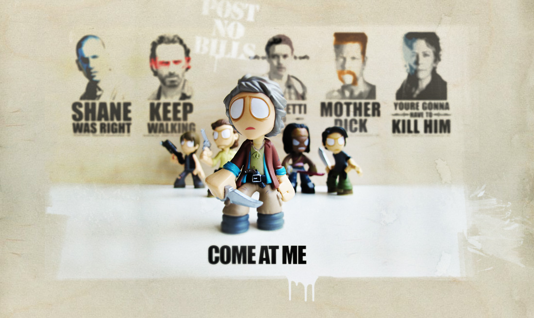 """Come at me"" Carol The Walking Dead Season Final"