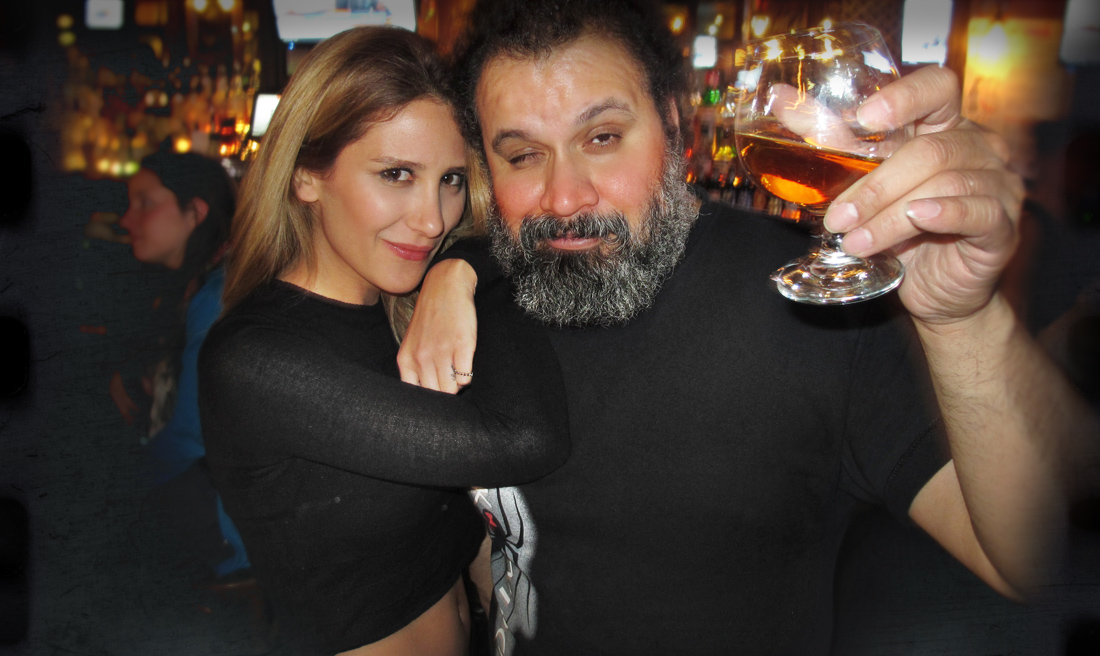 William Fuentes and Neslihan Gurel drink The Scotch December 2015 Webpage