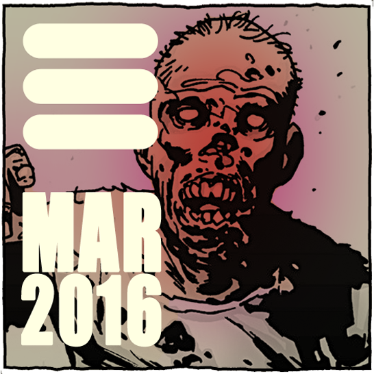 calendar button for the month of March 2016 @WilliamFuentes.com March 2016